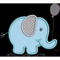 Elefante com Pipa