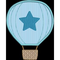Balão aplique estrela