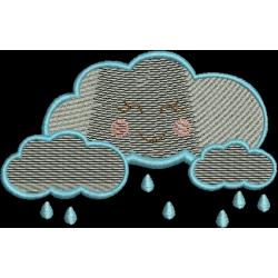 Nuvem com gotinhas