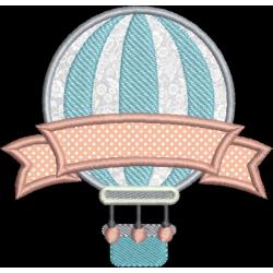 Balão Aplique