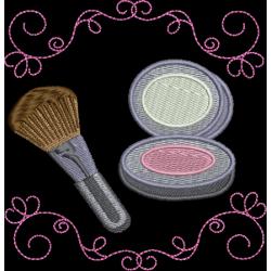 Kit Maquiagem arabecos
