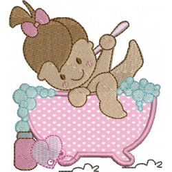Menina Banho 05