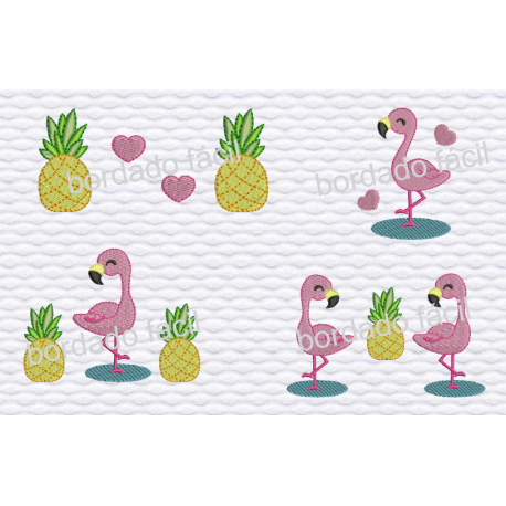 Pacote Flamingos