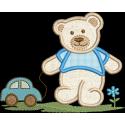 Urso com Carrinho