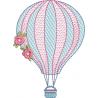 Balão com Rosas
