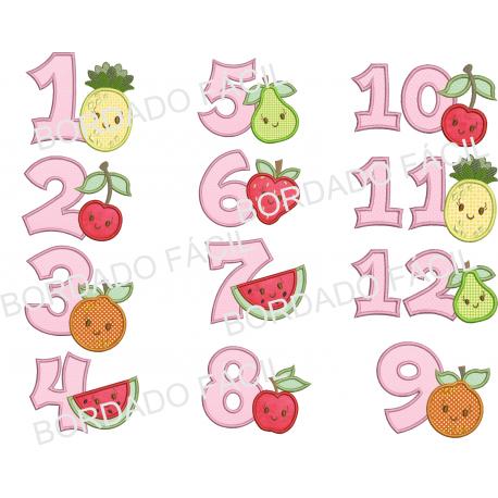 Meses Tema Frutinhas
