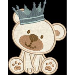 Urso com Coroa