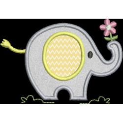 Elefante aplique
