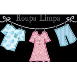 Varal roupa Limpa