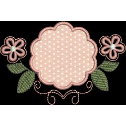 Moldura floral 01