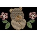 Urso com Flores