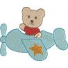 Avião com Urso