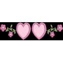 Flores com Coraçãoes