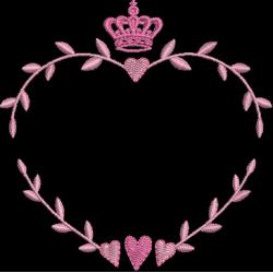 Moldura Coração