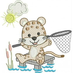 Tigre pescador