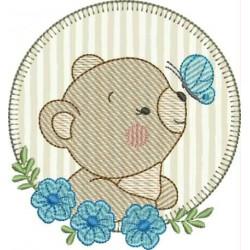 Urso borboleta Azul