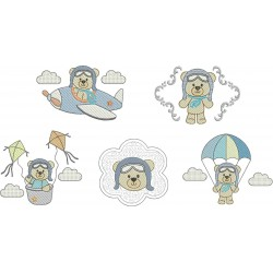 Pacote Urso Aviador
