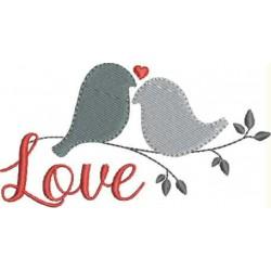 Dia dos Namorados Passaros