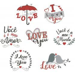 Pacote Dia dos Namorados Love