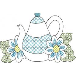 Chaleira nas Flores