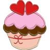 CupCake com Coração