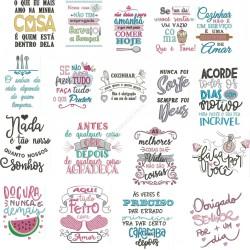 Pacote Coleção Frases