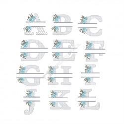 Coleção Letras Floral