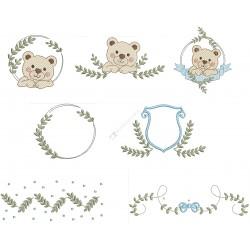 Pacote Molduras Urso