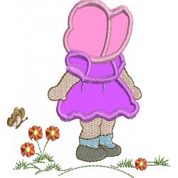 Camponesa nas Flores