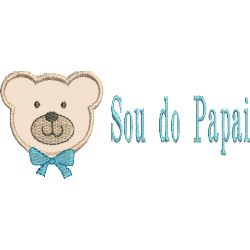 Urso Sou do Papai