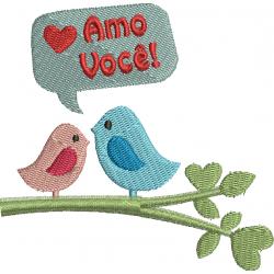 Pássaros Amo Você