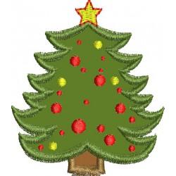 Árvore Natal com estrela