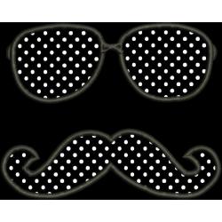 Bigode e Óculos