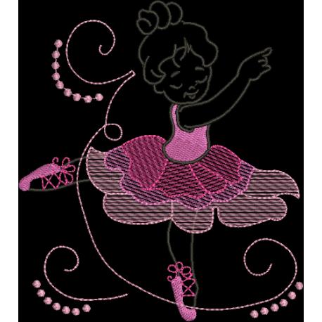 Menina Bailarina 01