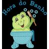 Sapinho Hora do Banho