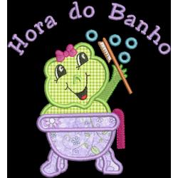 Sapinha Hora do Banho