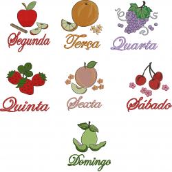 Semaninha com Frutas