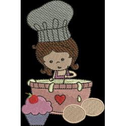 Menina Cozinheira