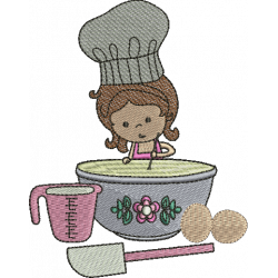 Menina Cozinheira 02