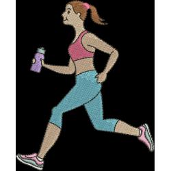Menina Correndo