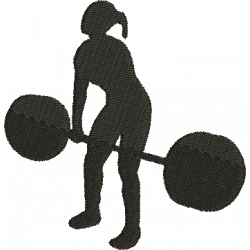 Menina Musculação