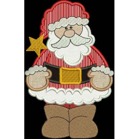 Papai Noel Aplique