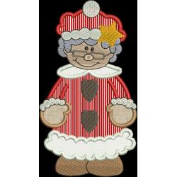 Mamãe Noel Aplique