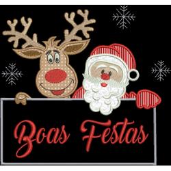 Papai Noel e Rena