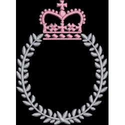 Moldura com coroa