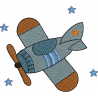 Avião nas estrelas