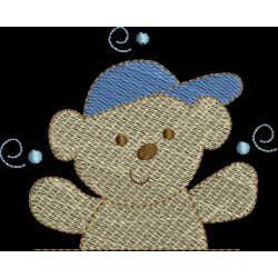 Urso com chapéu