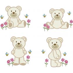 Pacote Urso Aplique
