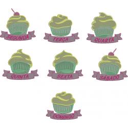 Pacote semaninha Cupcake