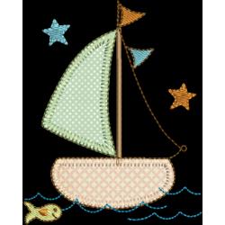 Barco com Estrelas 01
